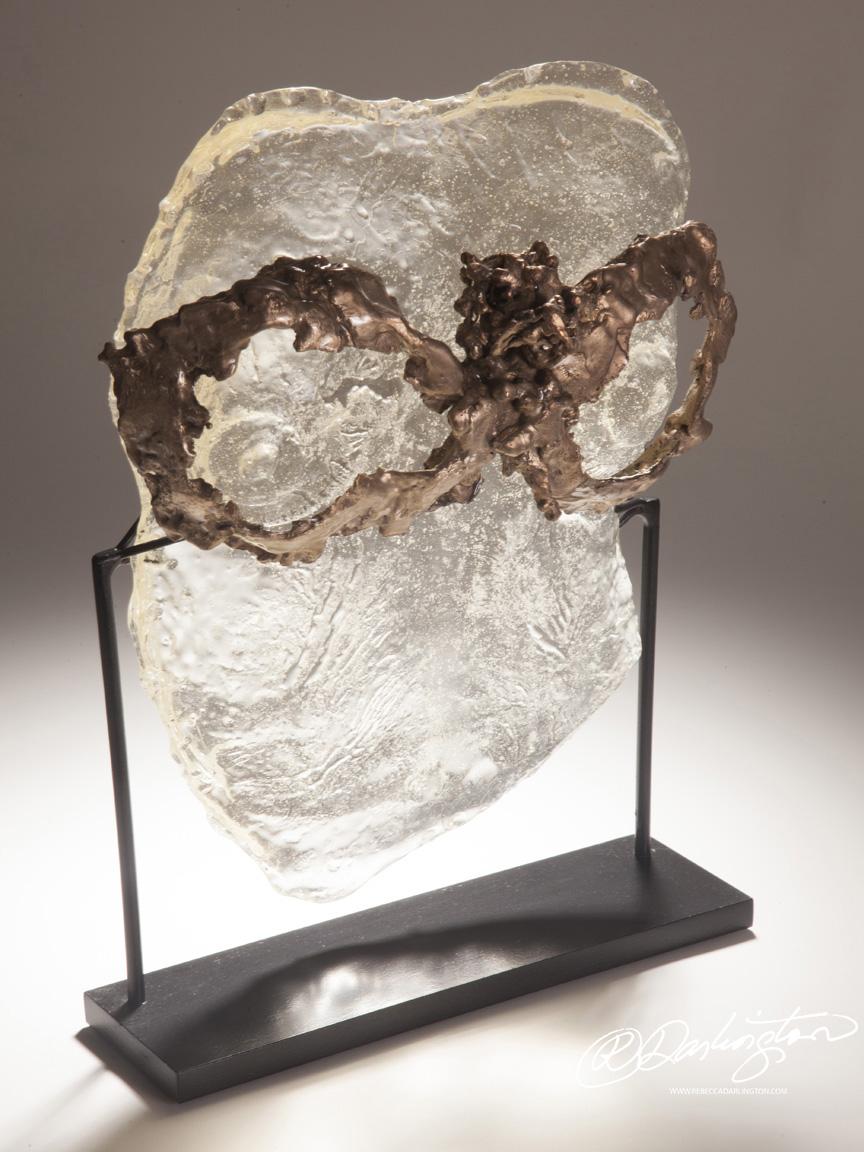 Sculpture Artist in New York City Selling Artwork Using Encaustic, Resin, Iron, Bronze Casting
