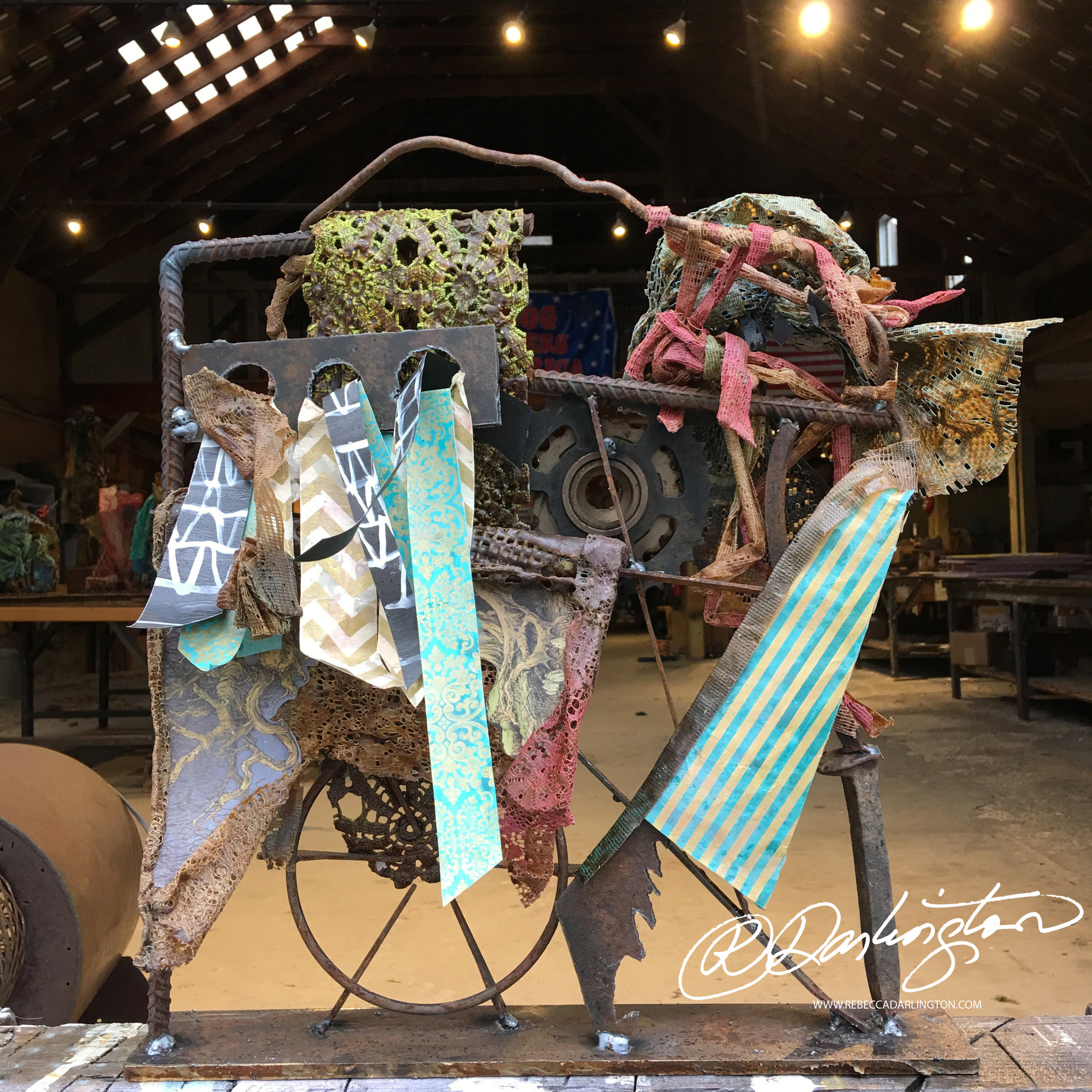 Sculpture Artist Displaying work in New York City this Weekend at an Art Event Gallery and Museum