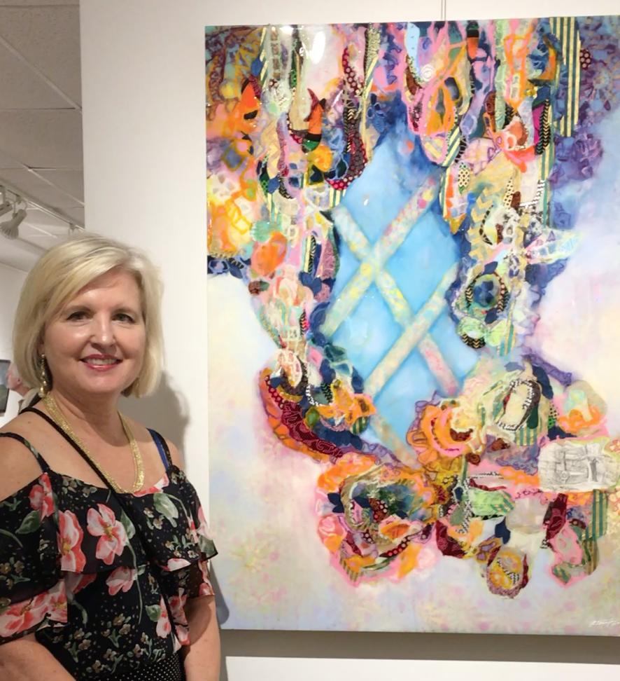 Rebecca Darlington from Opening Night at Art Bar Gallery in Kingston, NY