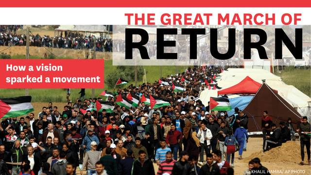 Gaza March of Return: Ahmed AbuArtema - Interviewed by Amy Goodman