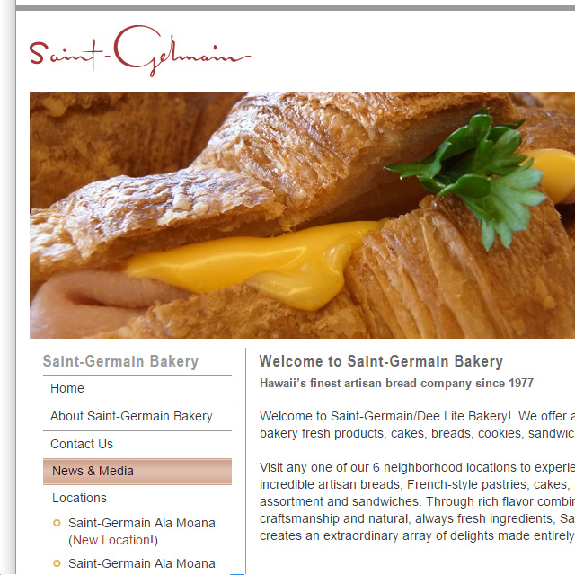 Web - Saint-Germain Bakery