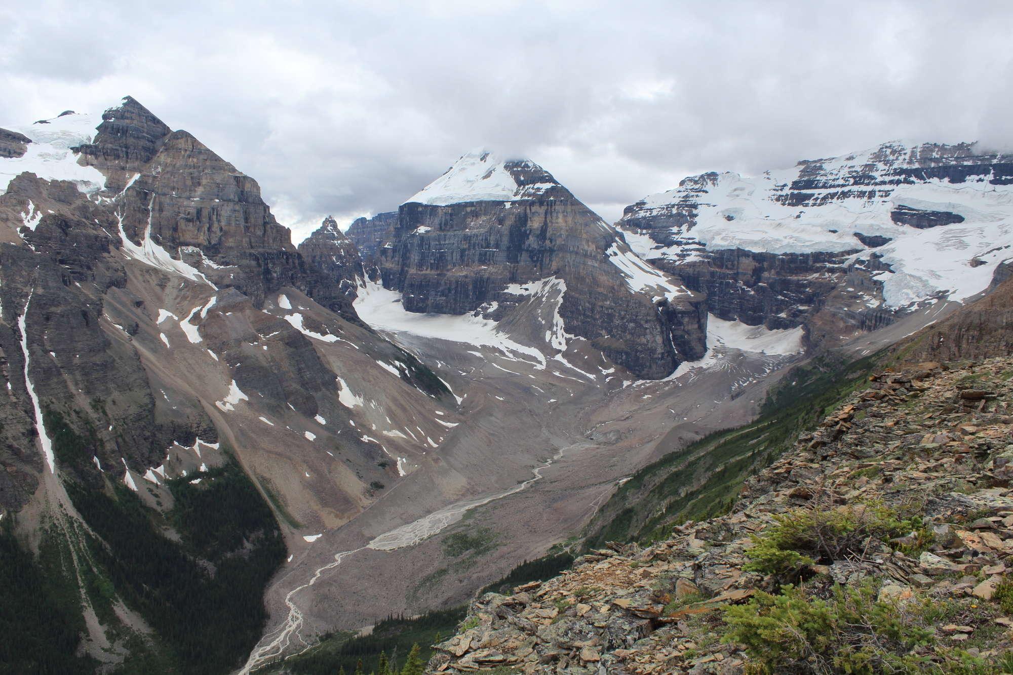 Mt. Victoria Glacier