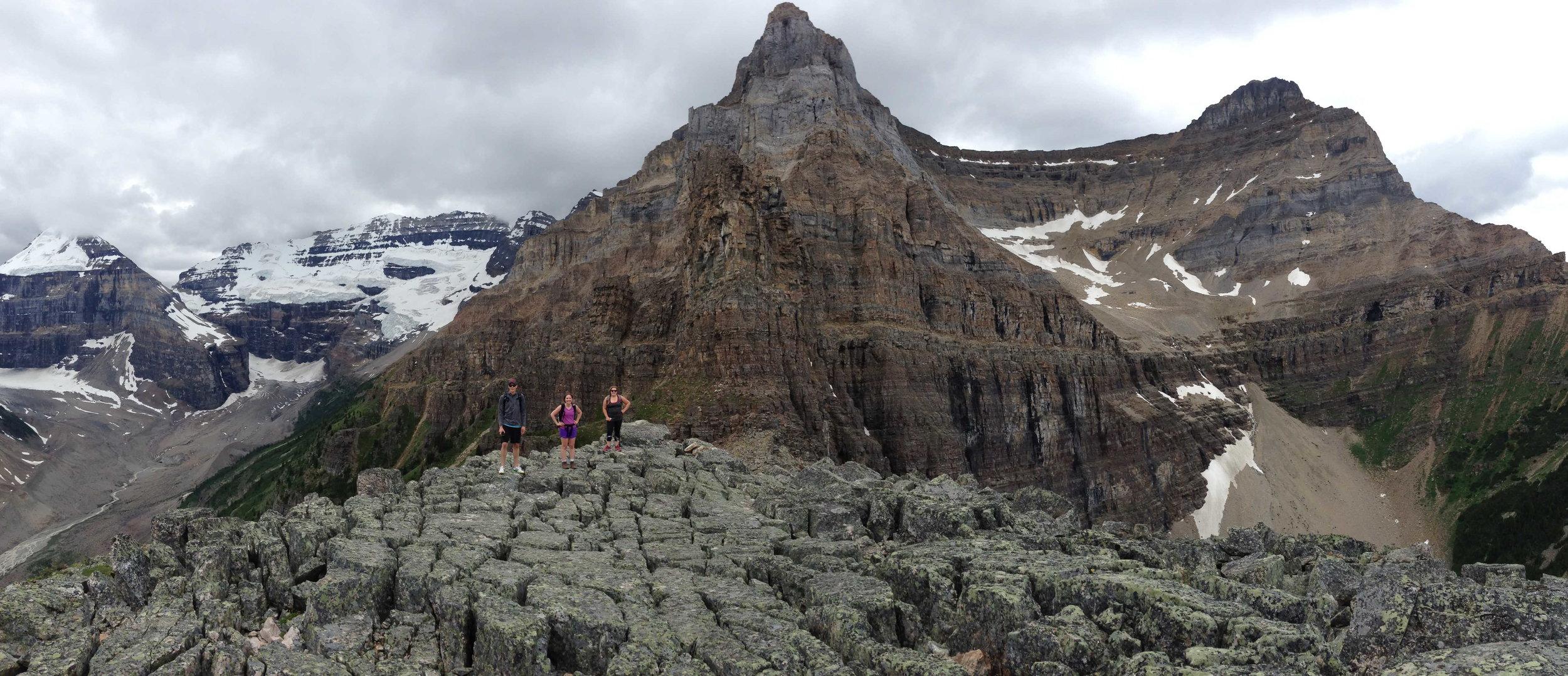 Summit of Devil's Thumb, Lake Louise