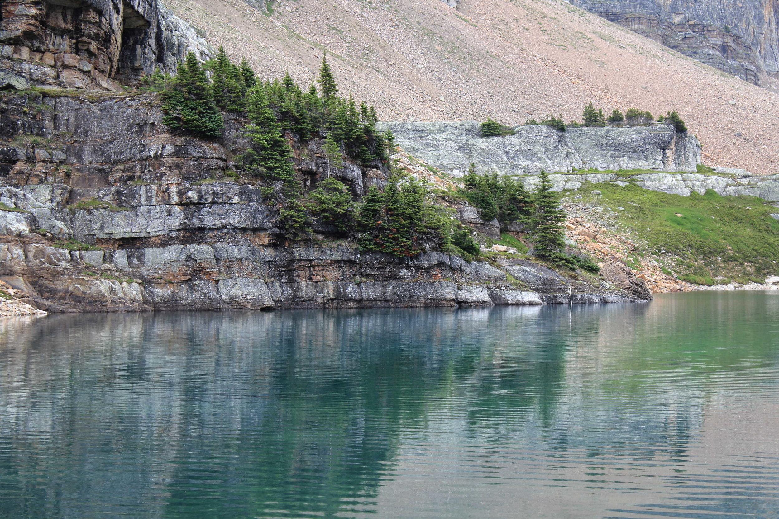 Opabin Lake, Lake O'Hara region