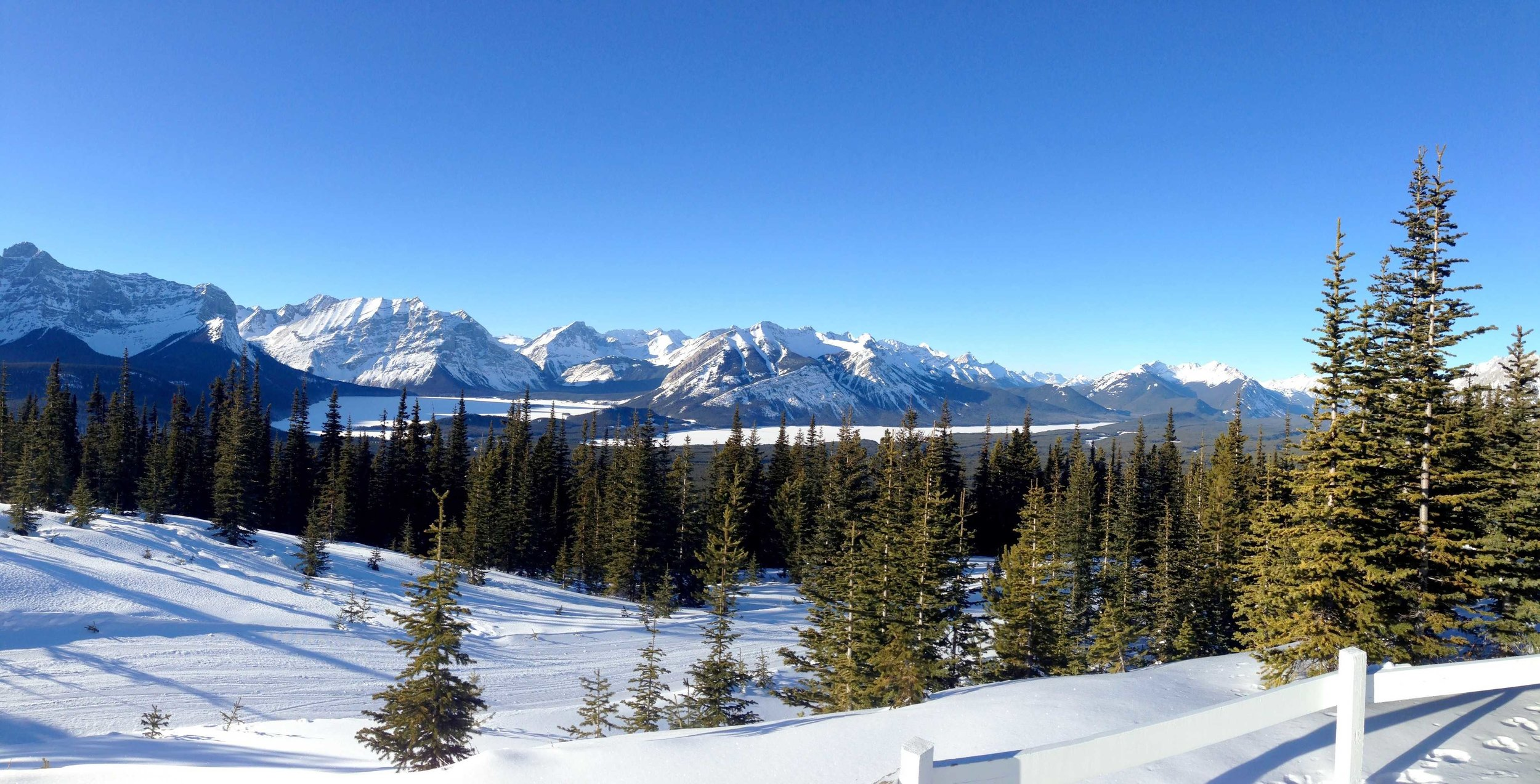 View From Kananaskis Fire Lookout Summit