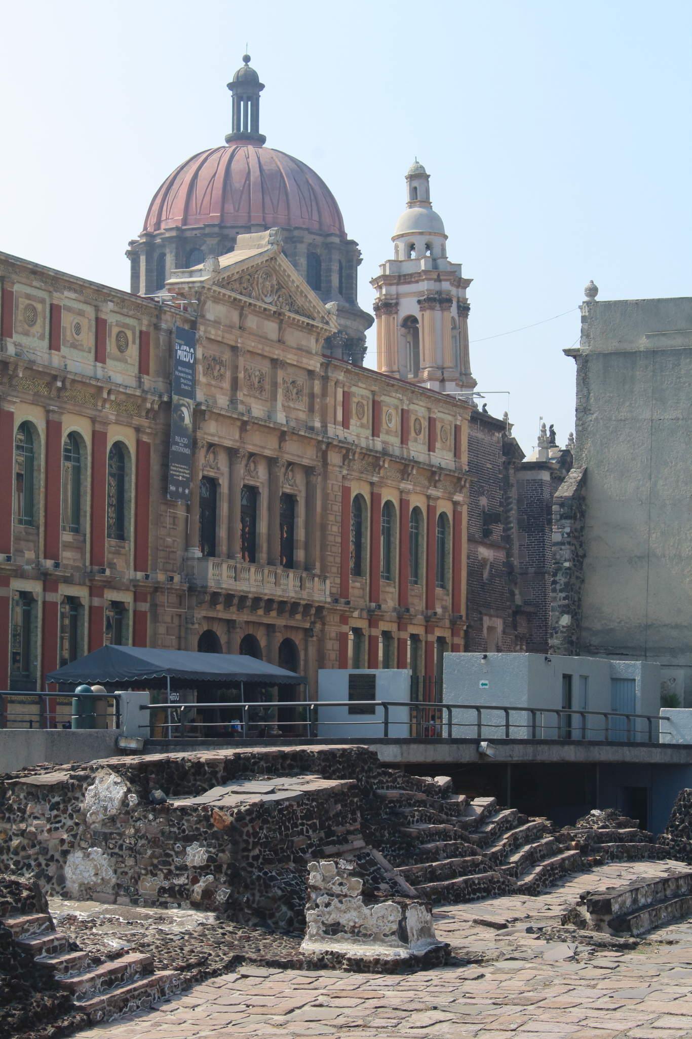 Templo Mayor, Tenochtitlán, Metropolitan Cathedral