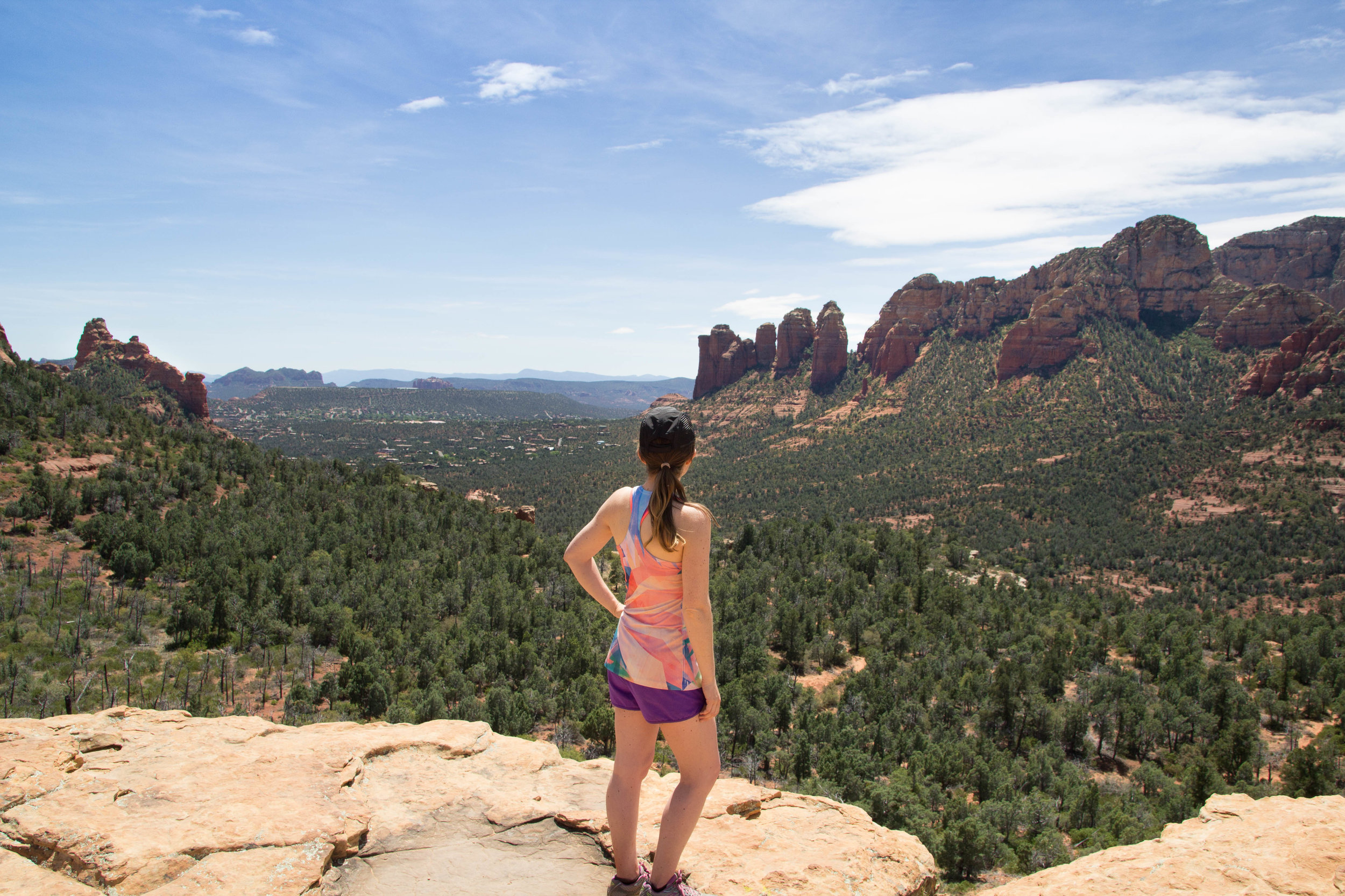 View from atop Brins Mesa