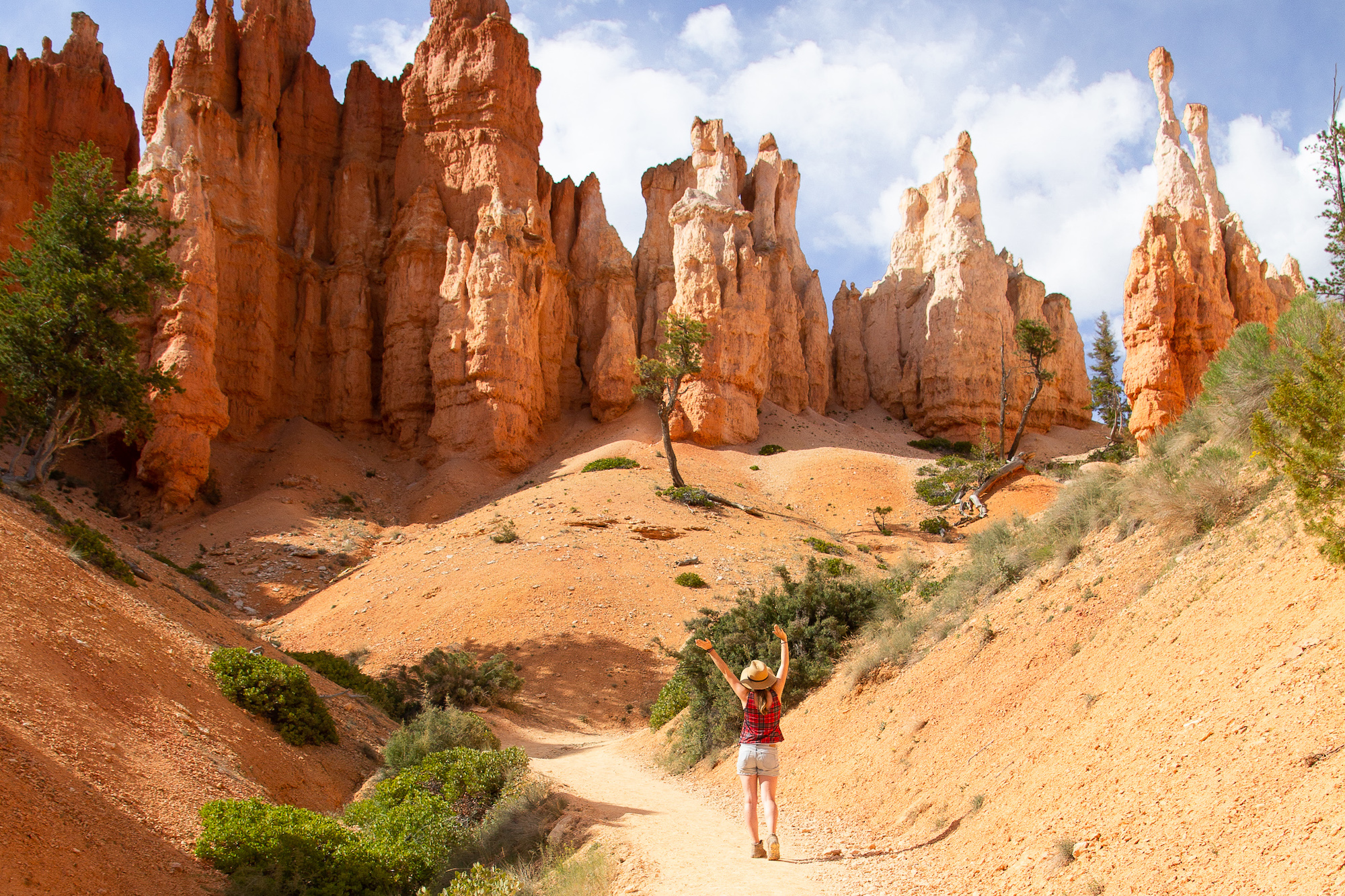 On the Peekaboo Loop Trail, Bryce Canyon National Park