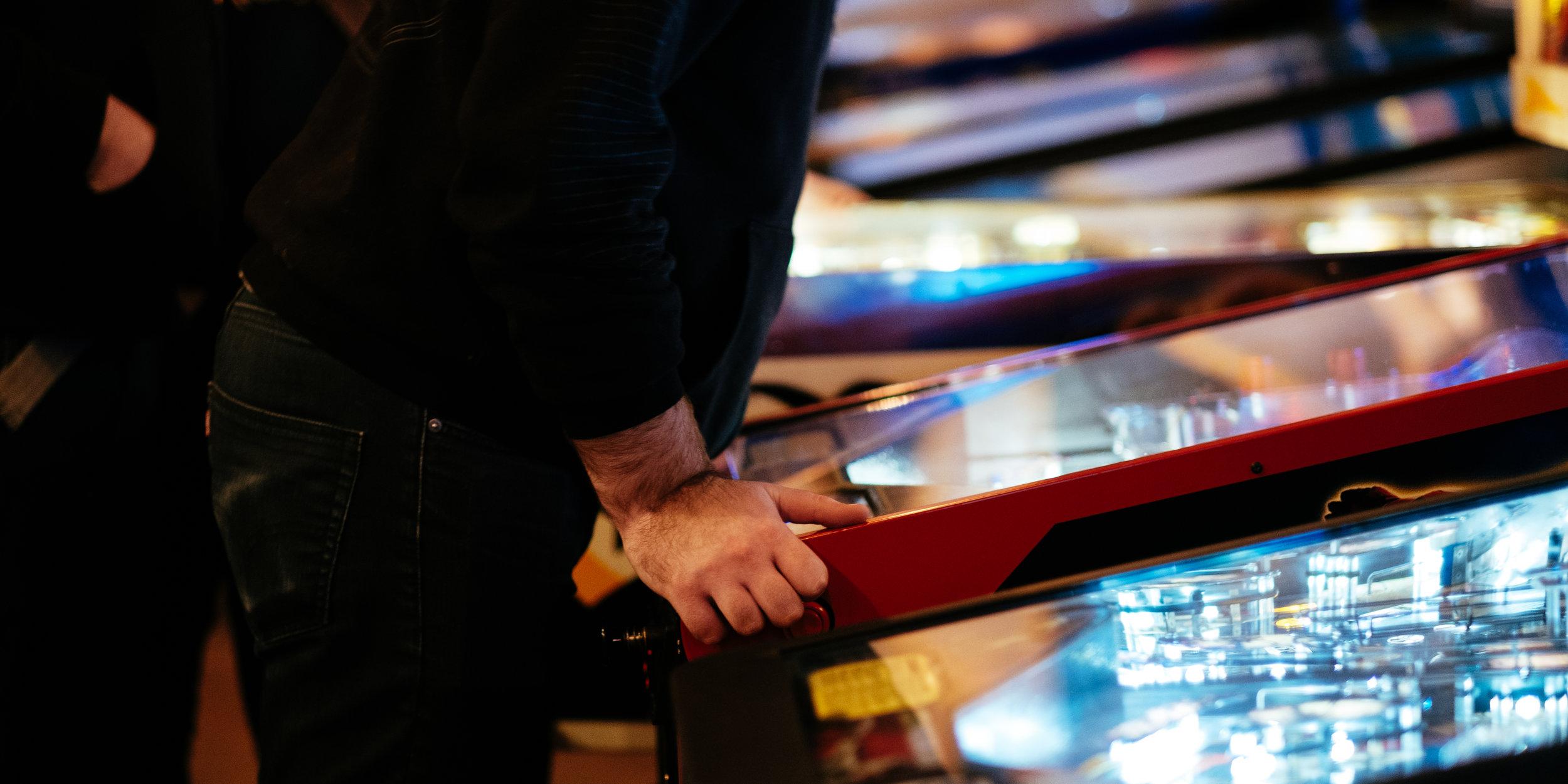 I/O Arcade Bar