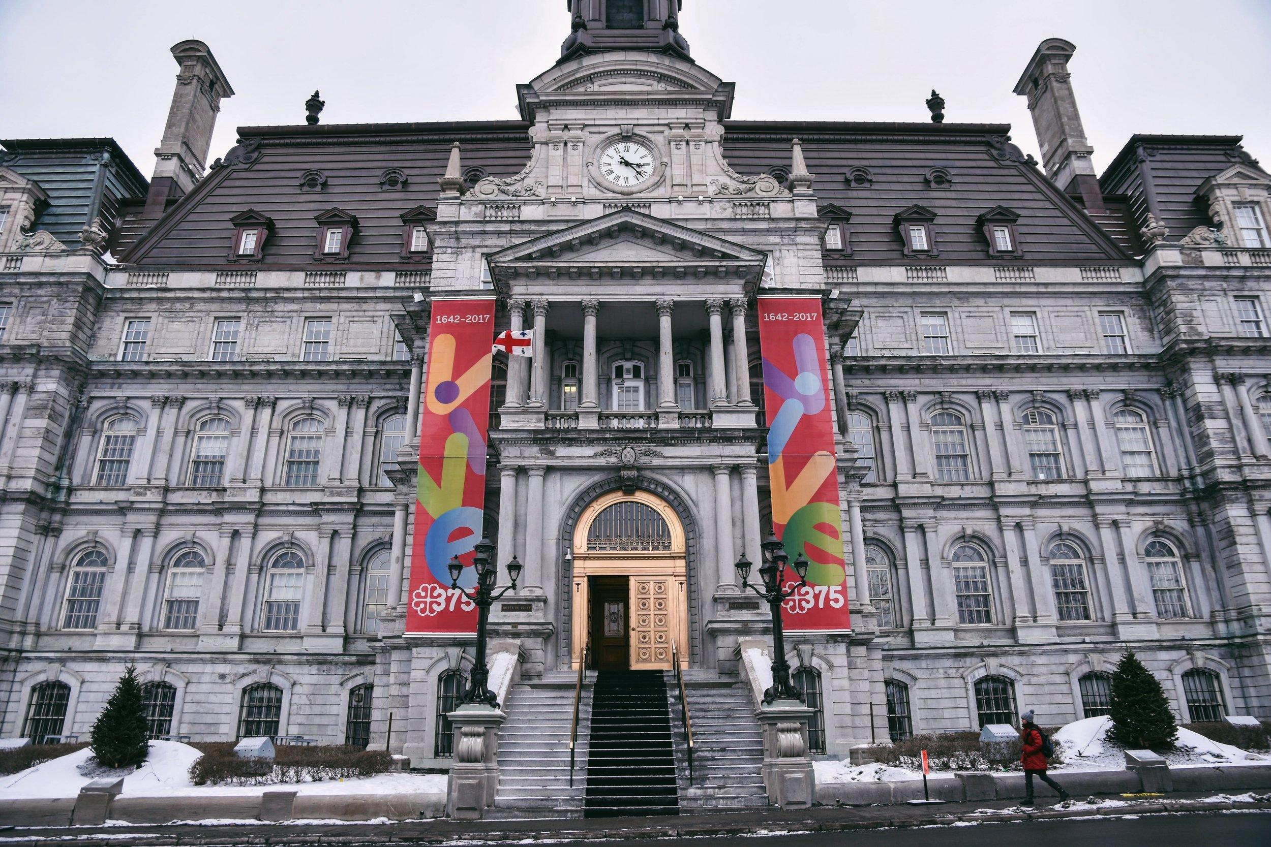 Hôtel de ville de Montréal in Old Montréal