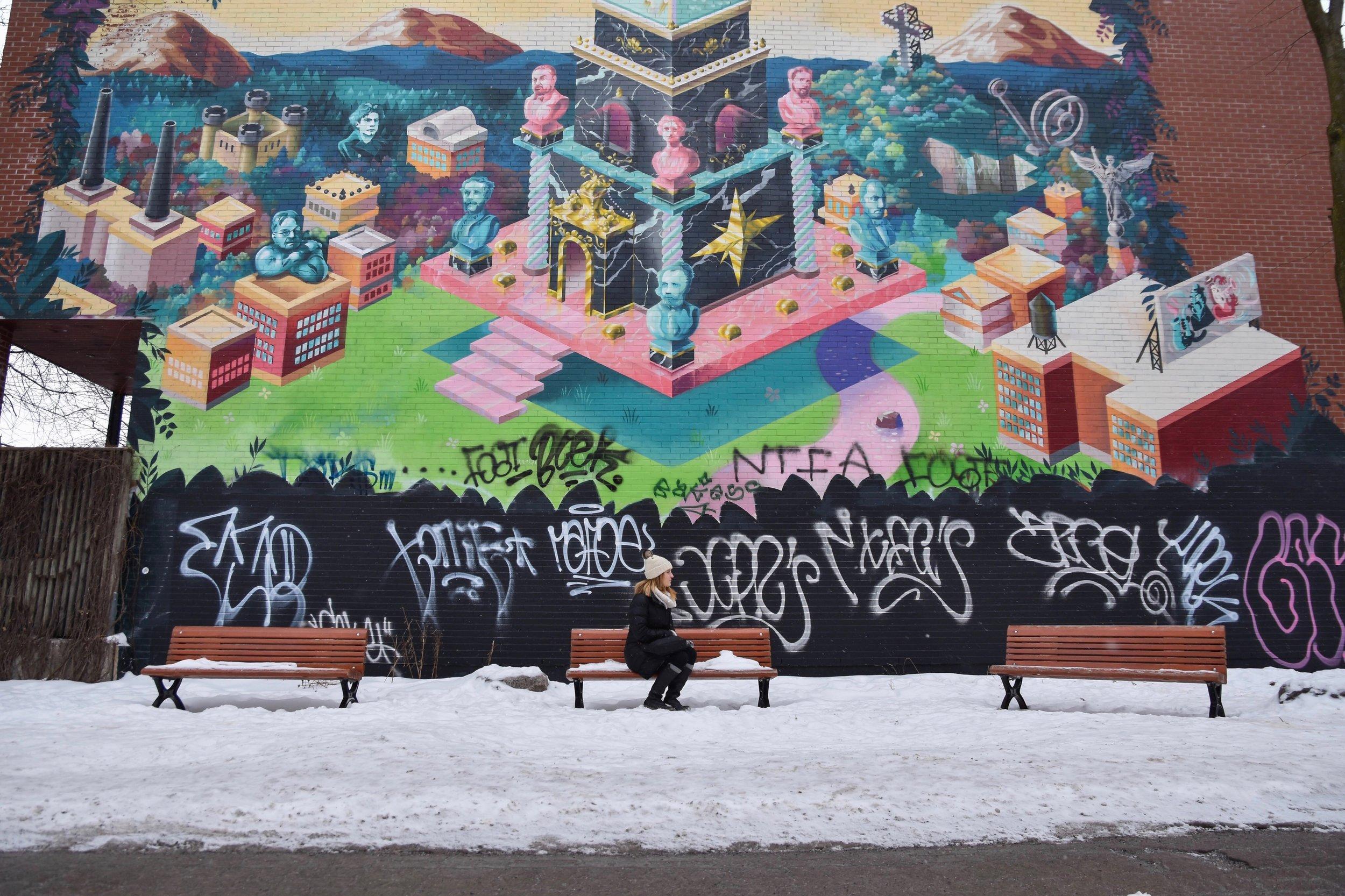 Street Art in Le Plateau