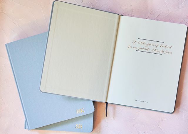 When you customize your custom @shinola journals 🖋💙 - #cocalligraphy #calligraphy #shinola #bespoke #michigancalligrapher #dailydoseofpaper #moderncalligraphy #fineartcalligraphy #paperlove #engaged #detroitcalligrapher #journal #handwritten #weddinggiftsidea #weddinggifts #weddinggiftideas