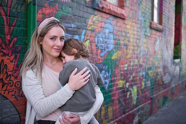 Canadian cuddles.  #emoryowu #graffitialley #graffiti #toronto #toronto_insta #canada #familyvacation #havekidswilltravel #unitedinmotherhood #boymom #motherhoodthroughinstagram  #ig_motherhood #joyfulmamas #ohheymama #our_everyday_moments #travelgram #travel #kingstreetwest #thehappynow