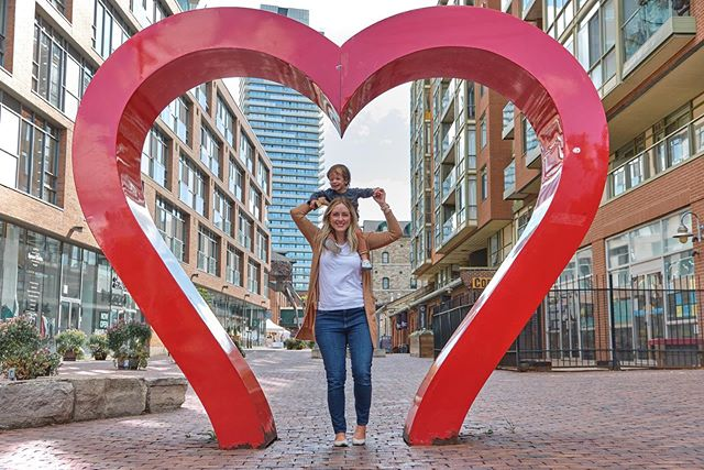 He has my whole heart ❤️ . . #emoryowu #distillerydistrict #toronto #toronto_insta #canada #familyvacation #havekidswilltravel #unitedinmotherhood #boymom #motherhoodthroughinstagram  #ig_motherhood #joyfulmamas #ohheymama #our_everyday_moments #travelgram #travel #thehappynow #mamasboy