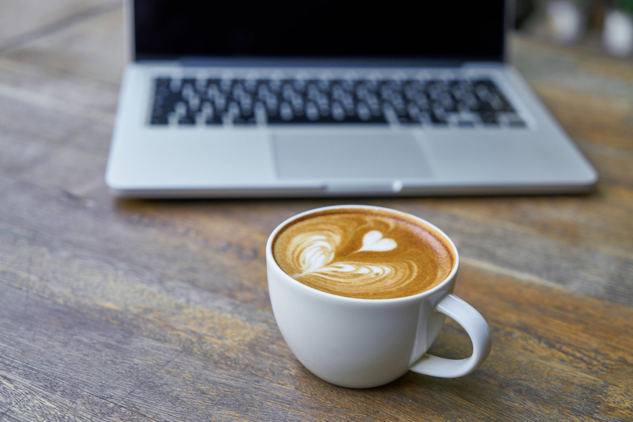 Where do you enjoy your working coffee?