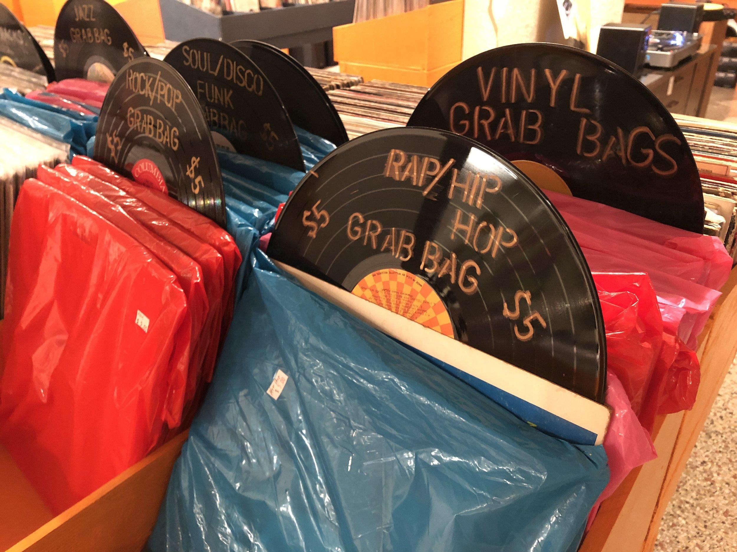 WILD AT HEART? $5 RECORD GRAB BAGS.