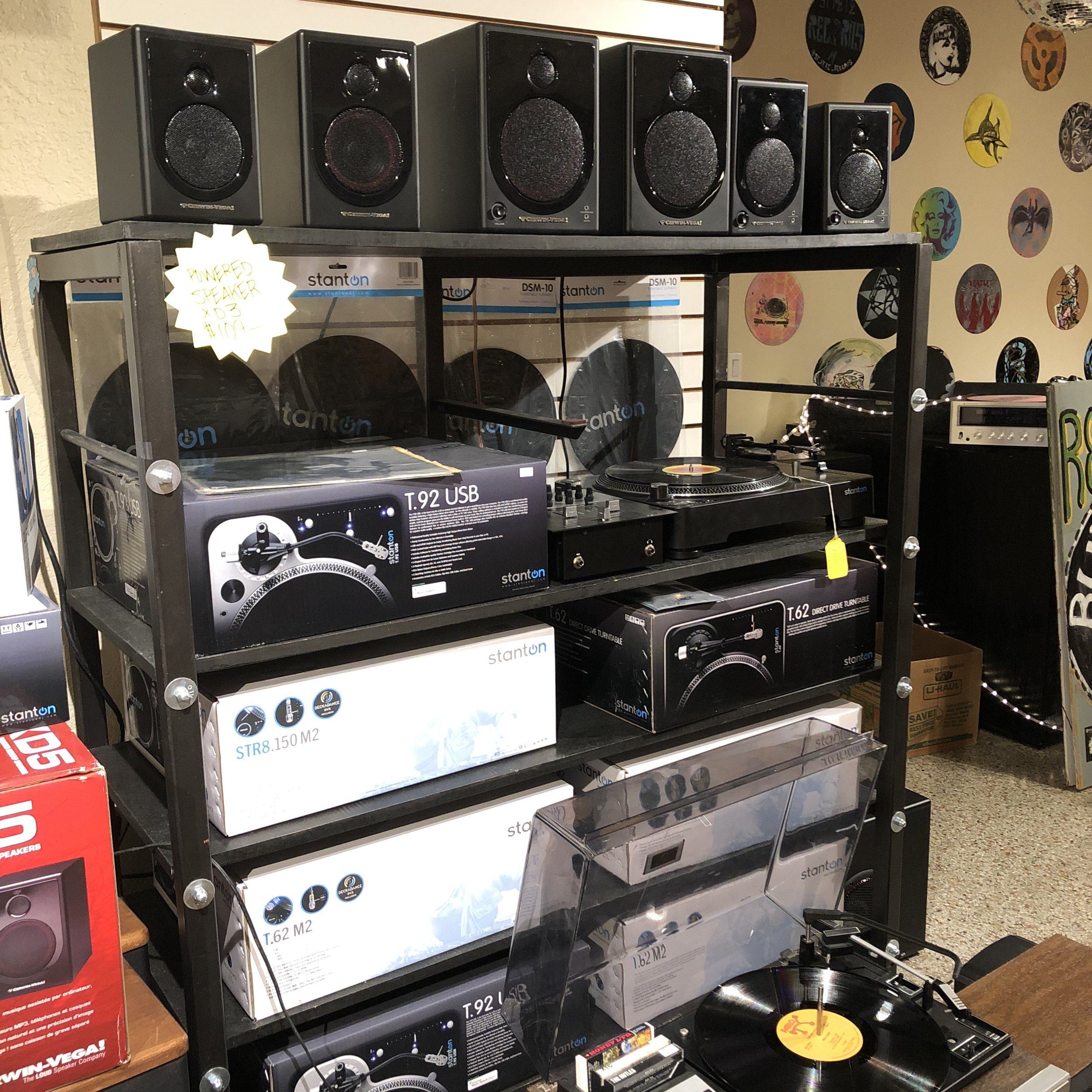 GET OUTFITTED WITH OUR STEREO EQUIPMENT