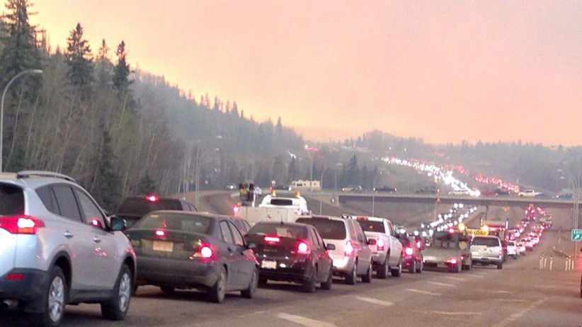 Alta Wildfire Evacuation