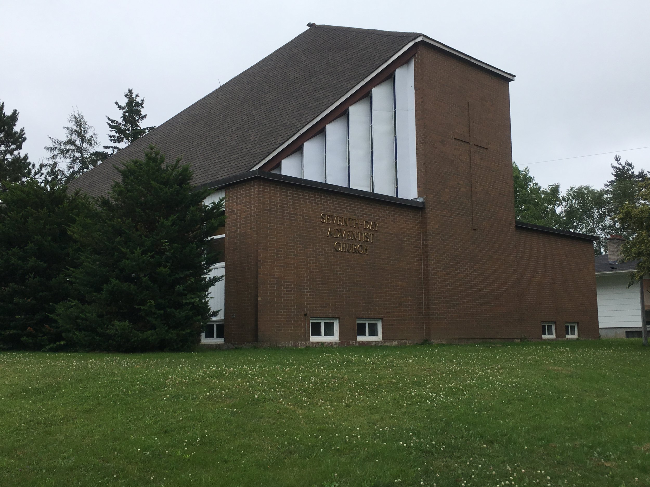 7th Day Adventist Church, Grandame Street, Fredericton