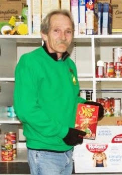 Jim Smith has been working and volunteering at the Food Bank and later Greener Village for nearly a quarter century.