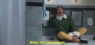 Will Ferrell co-singing Baby It's Cold Ouside in the 2003 movie Elf
