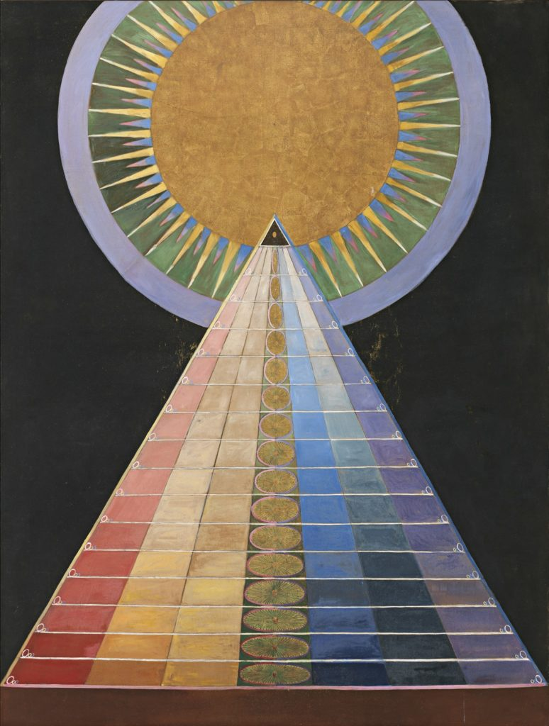Altarpiece No. 1   by Hilma af Klint  | a sign of the times