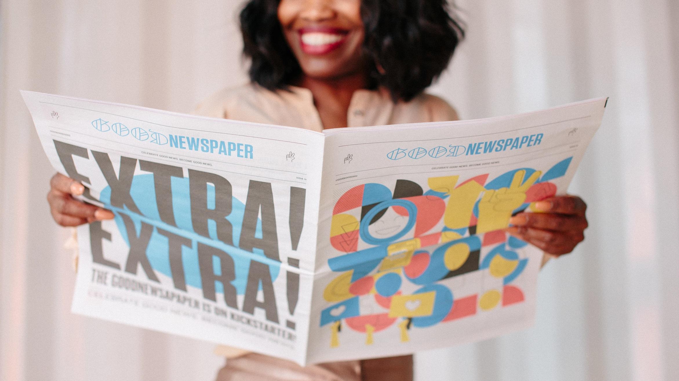 Goodnewspaper - Good Good Good - Good News Paper - Happy News