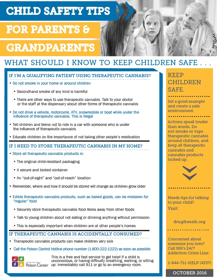 NH CHILD SAFETY TIPS FOR PARENTS & GRANDPARENTS