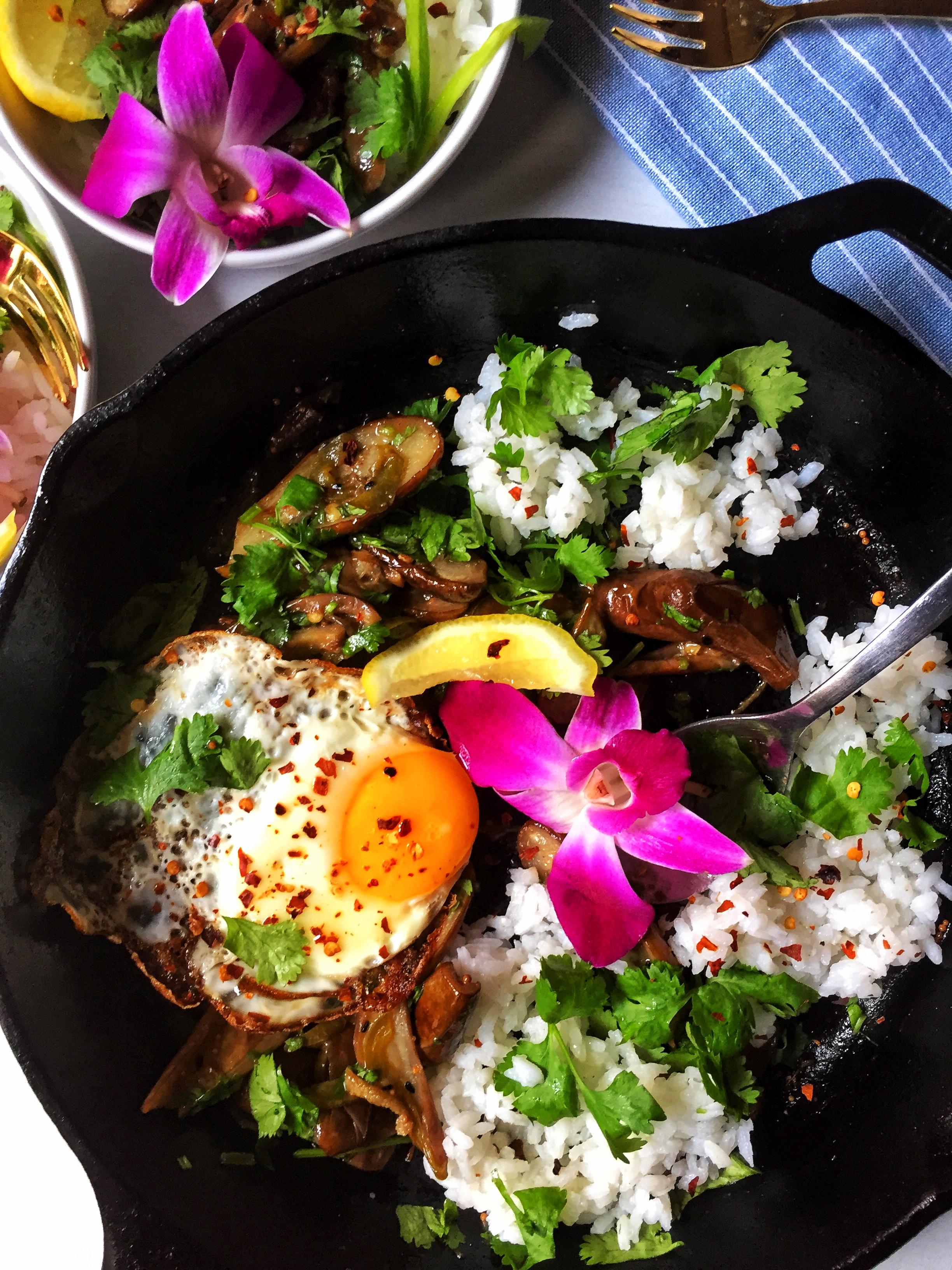 begun'er tok: bengali charred eggplants with a sweet & spicy tamarind glaze