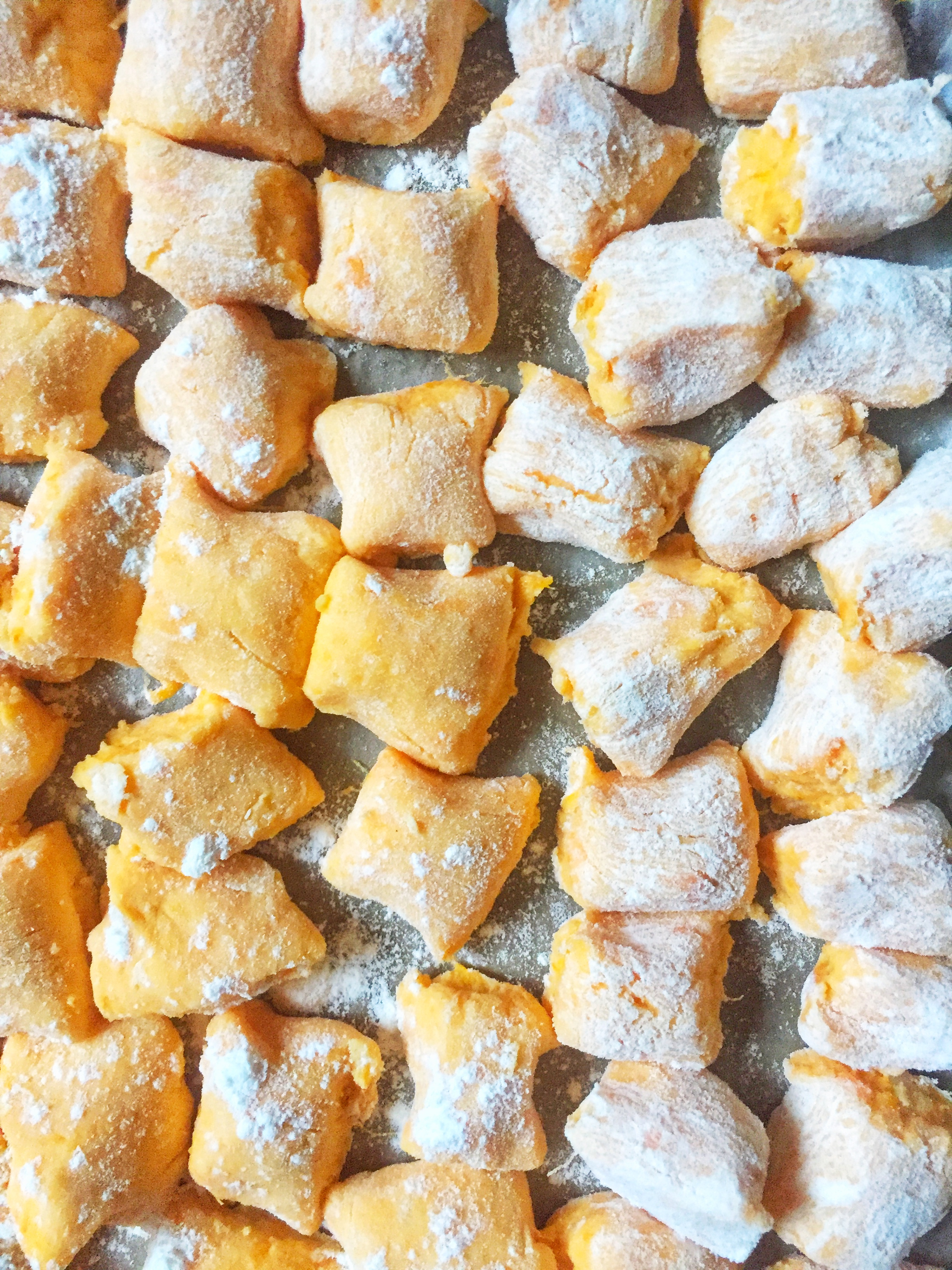 effortlessly easy sweet potato gnocchi to enjoy now or freeze for later ~