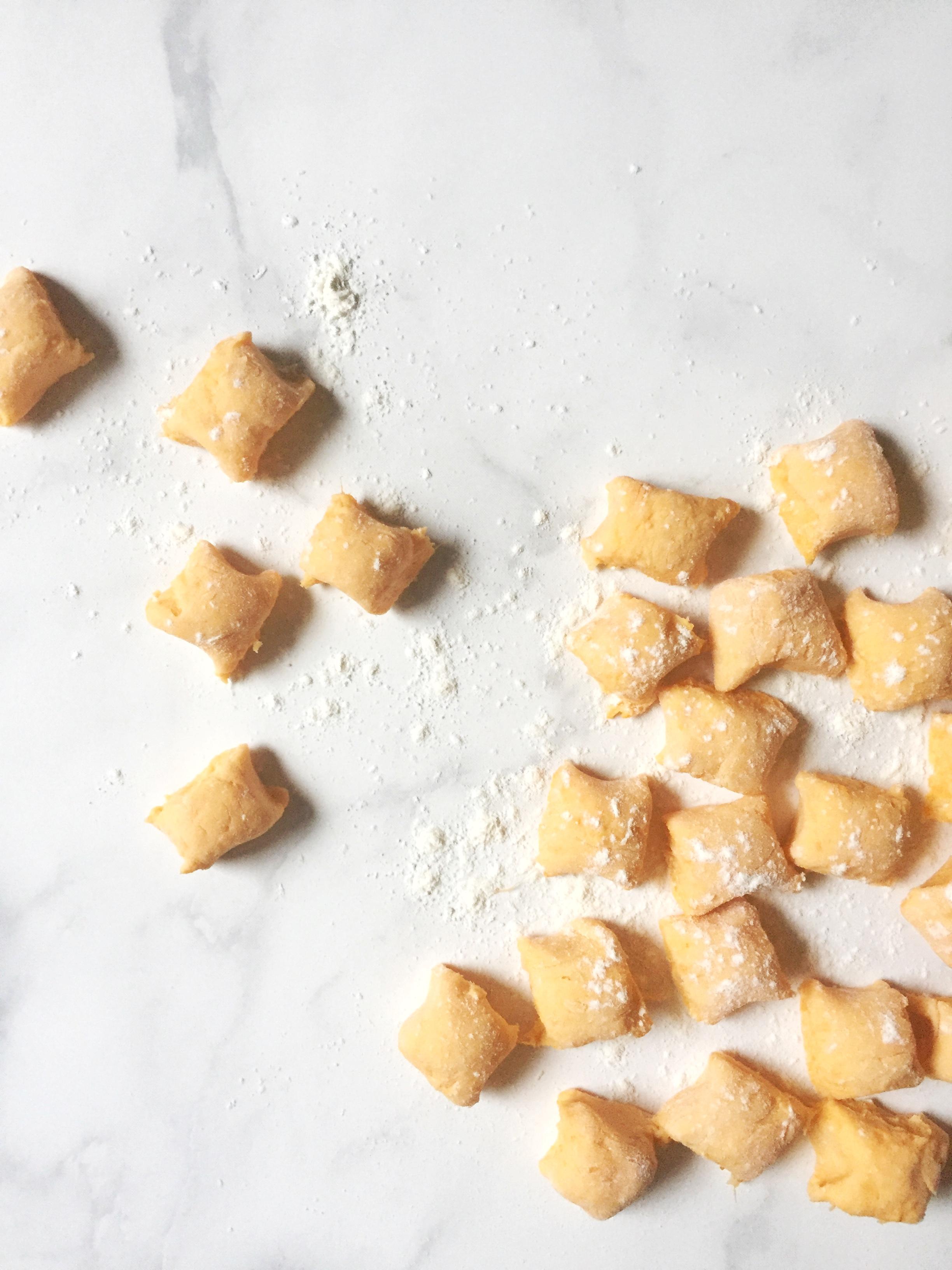 sweet potato gnocchi ~ the perfect fall comfort dish