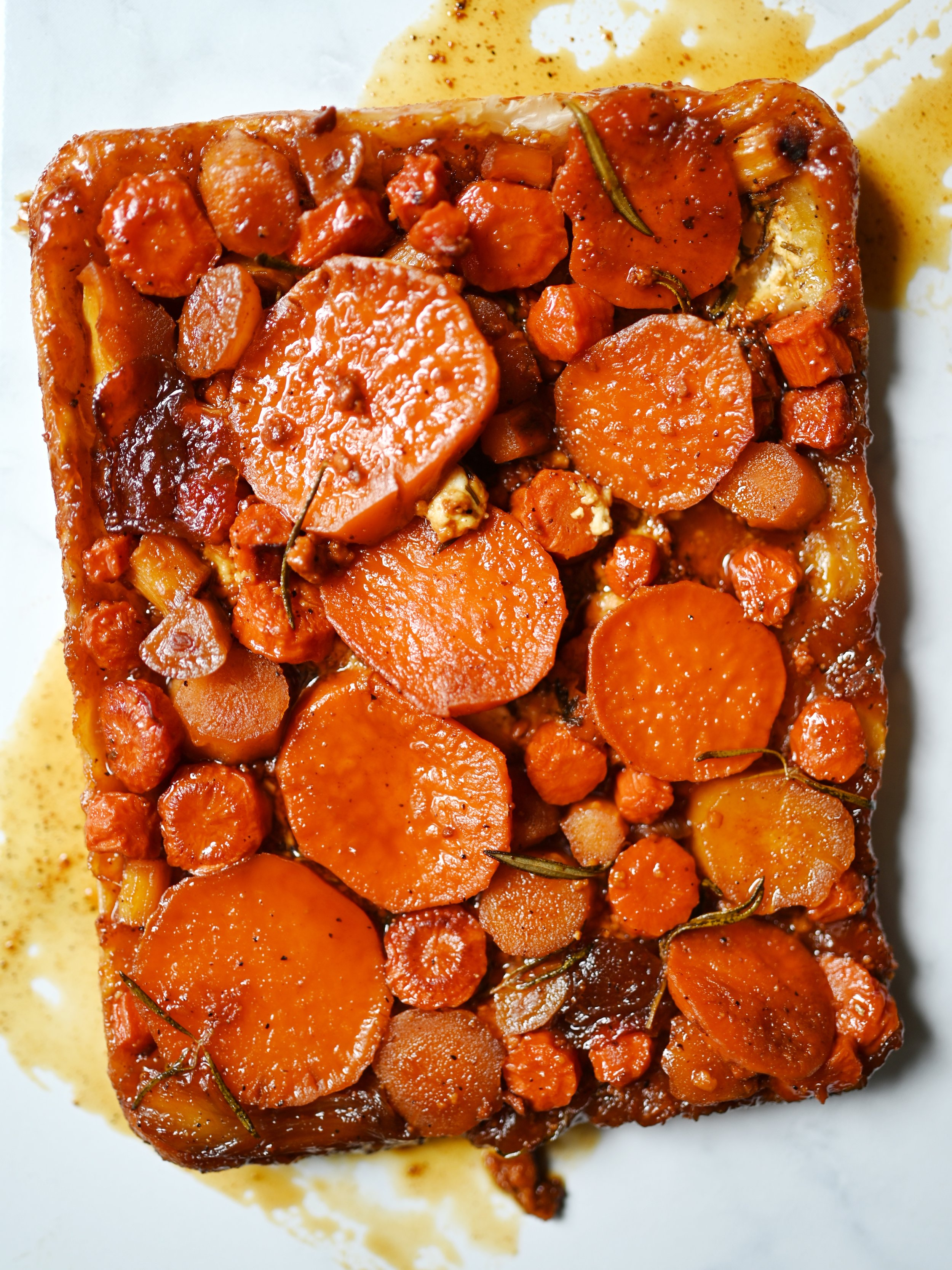 Caramelized Winter Root Vegetable Tart