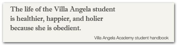 Villa Angela Handbook quote 1