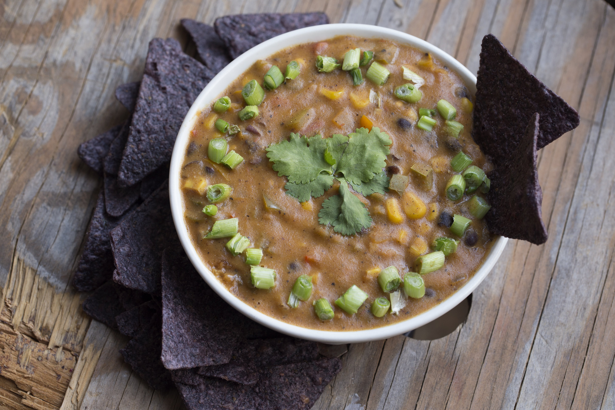 spicy vegan chili cheese dip perfect for family gatherings where you   know   there won't be any veggie options.