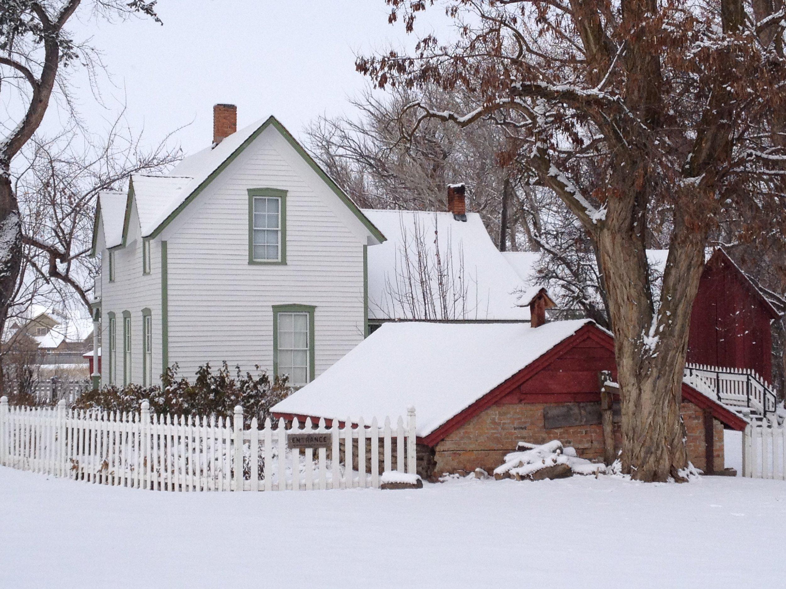 Schick-Ostolasa Farmhouse in winter 2 [Jay Karamales][2014].JPG