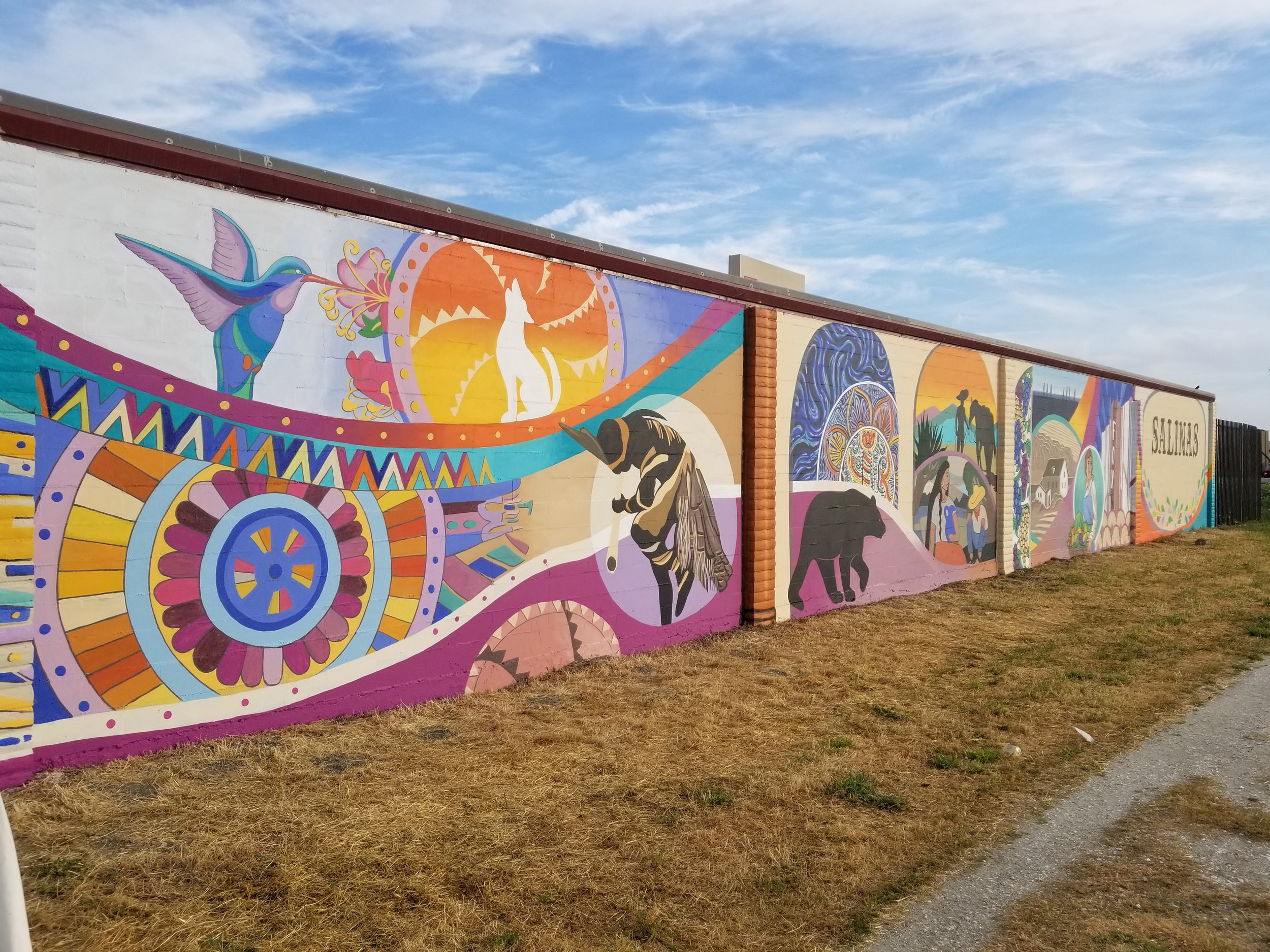 Detail of Salinas 600' mural