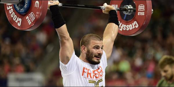 Mat Fraser. CrossFit Games Champion 2016.