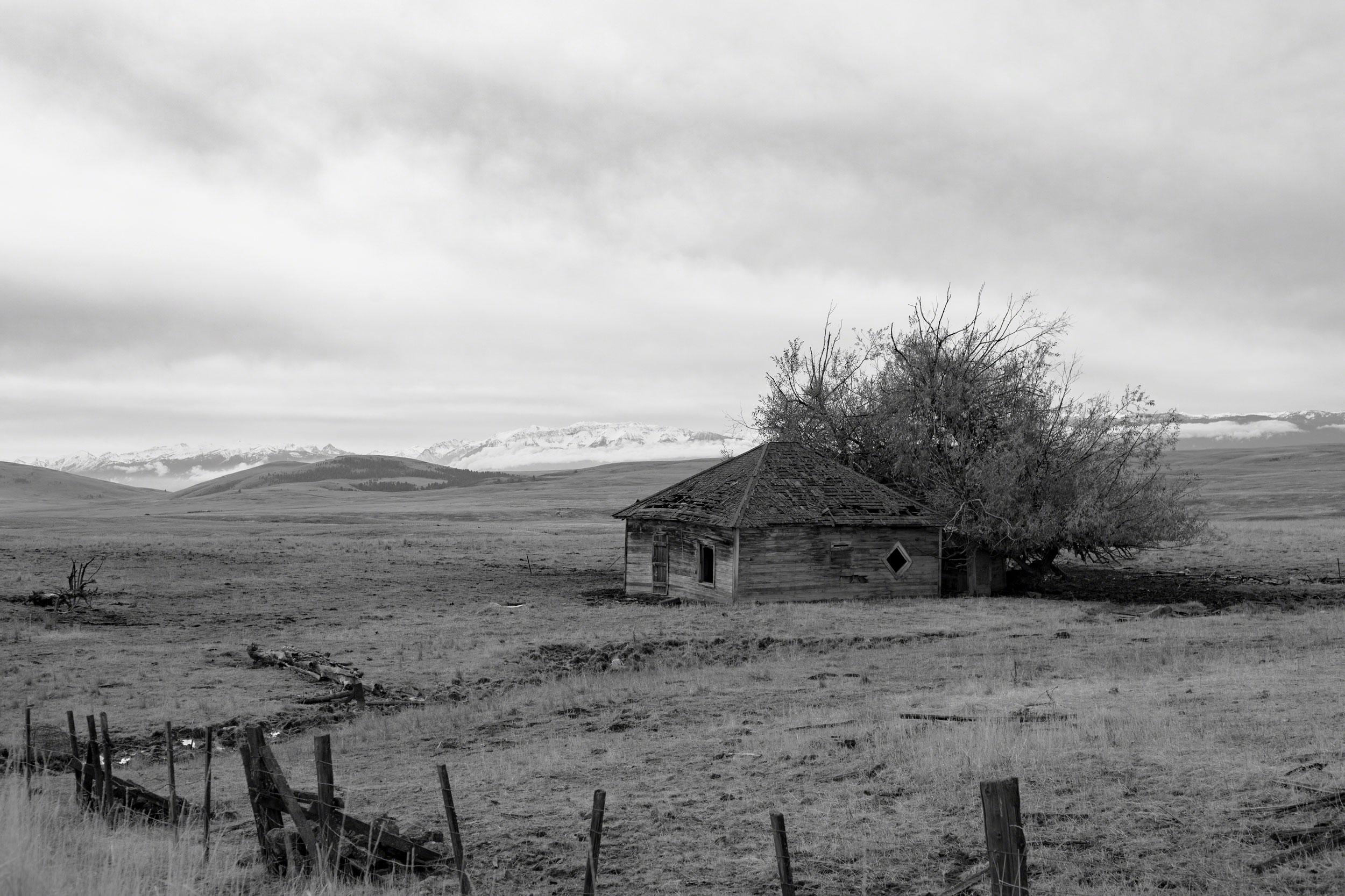 Abandoned Prairie Home