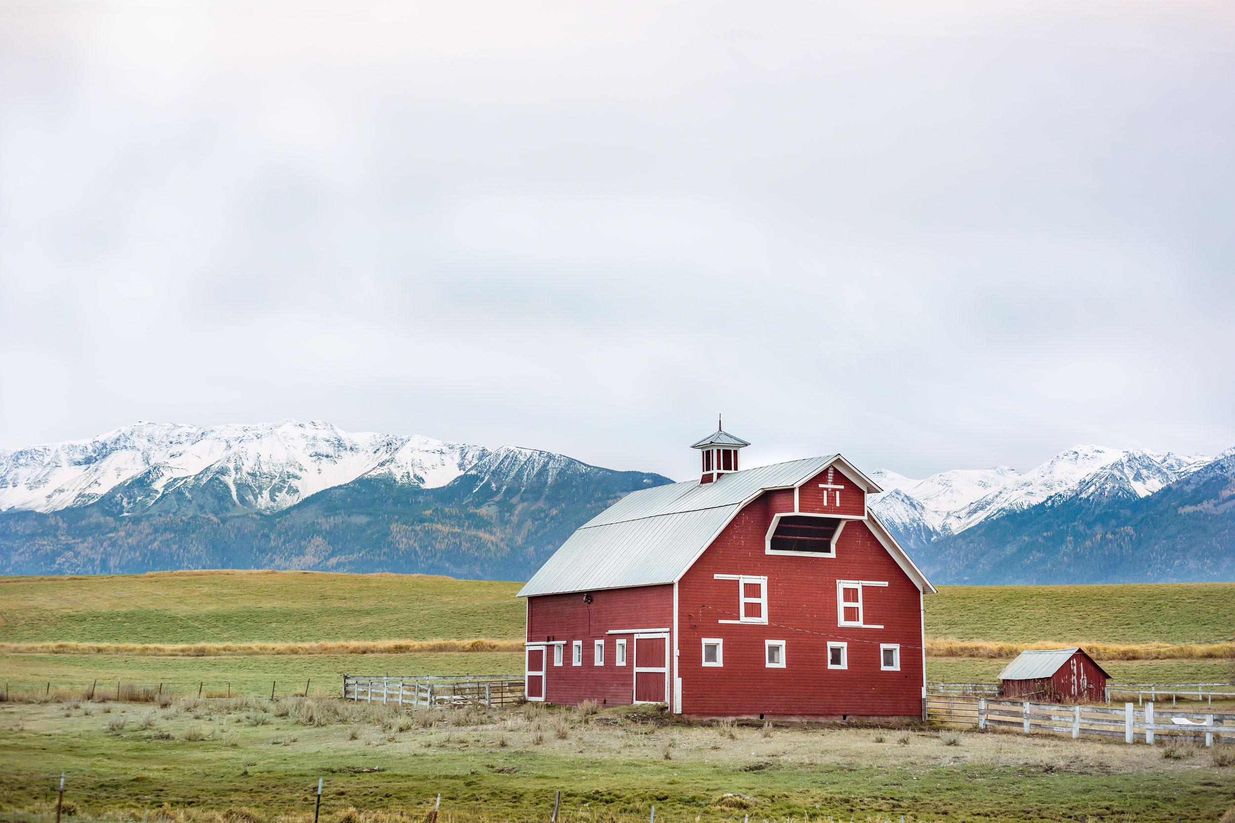 Red Barn, Joseph, Oregon