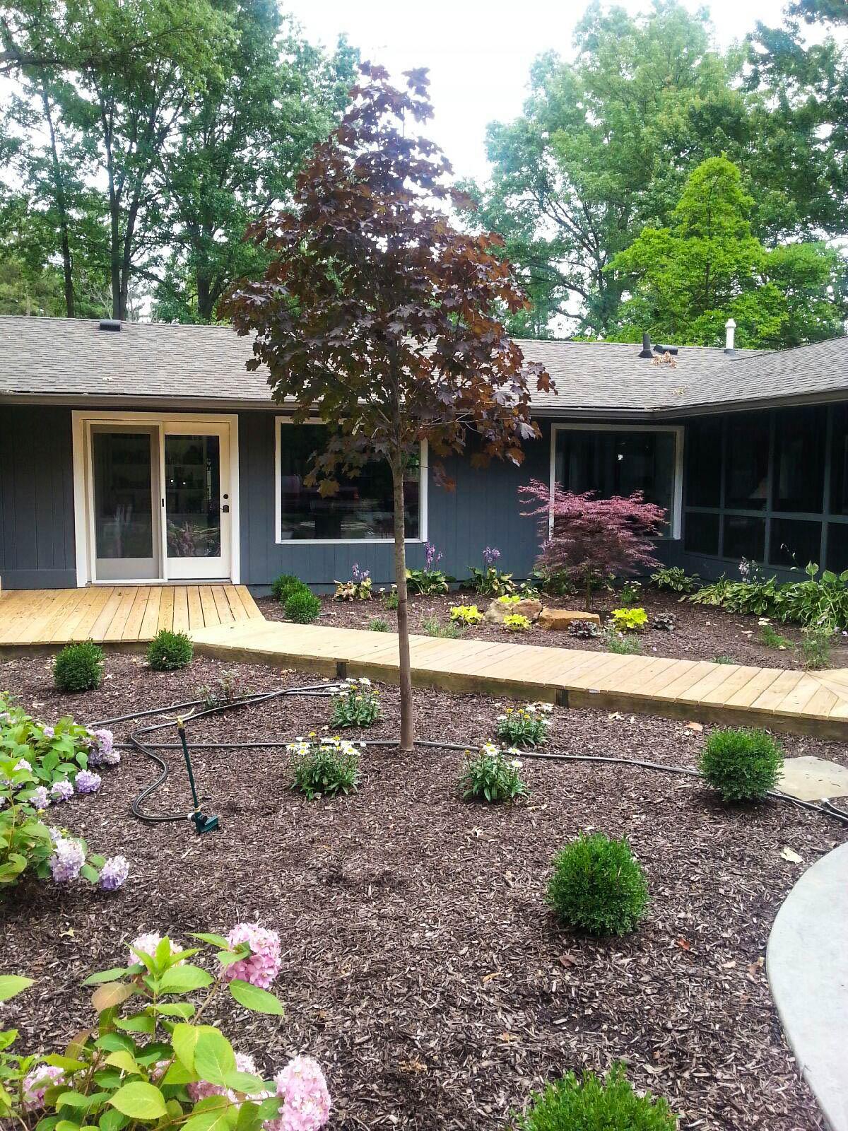 Landscape Design in Carmel, Indiana.