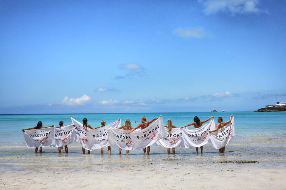 Some of our team enjoying Bermuda.