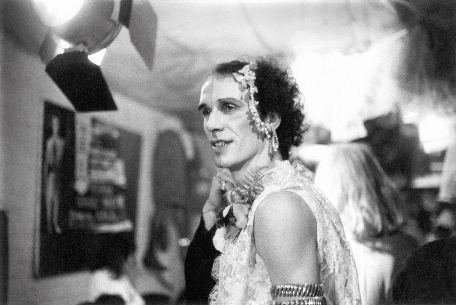 Andrew Logan at the first Alternative Miss World in 1972