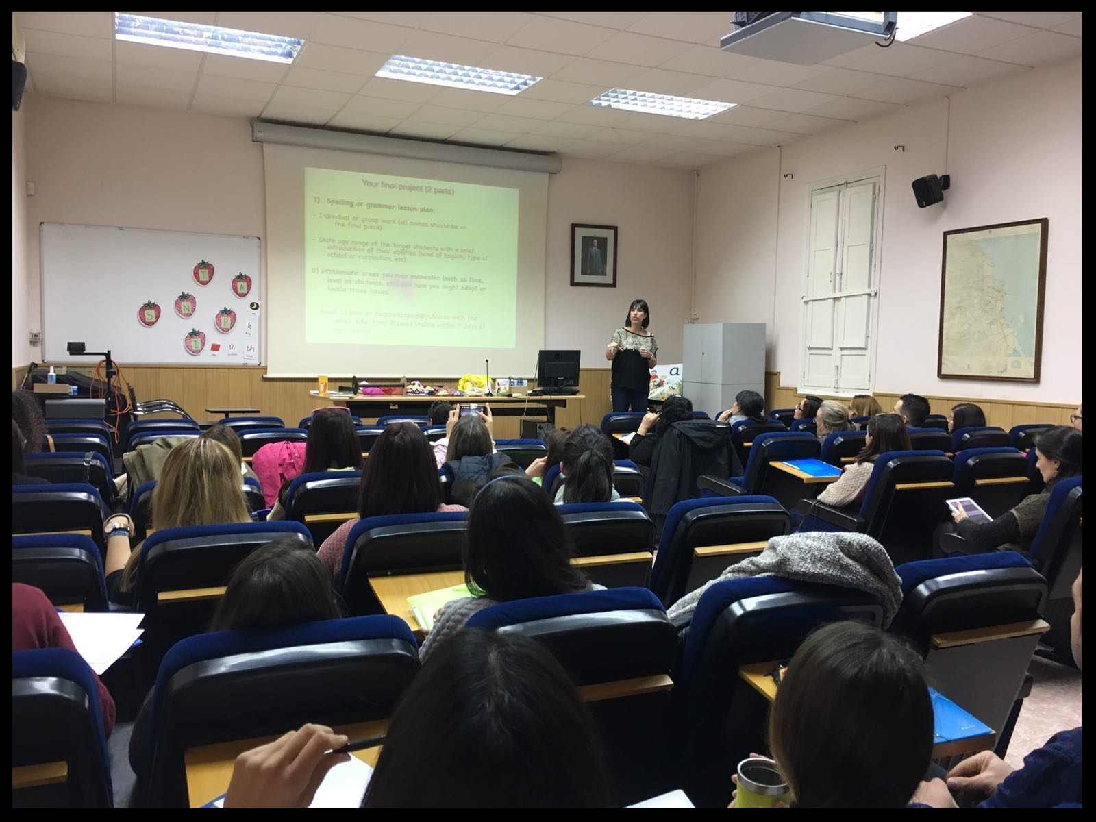 Synthetic Phonics Training with the MEC in Melilla.