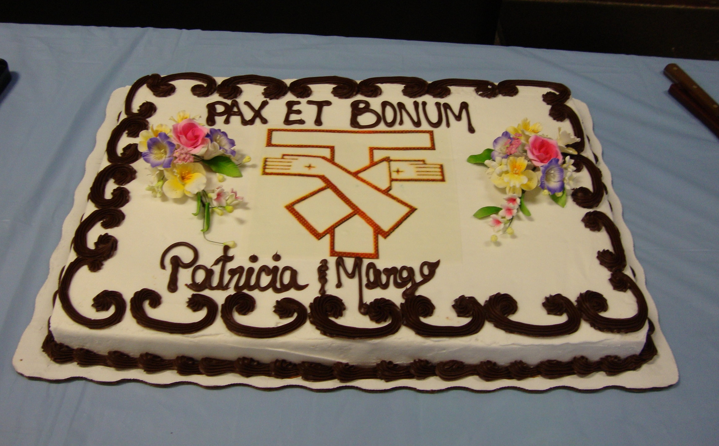 Celebrating the Profession of two Fraternity sisters.