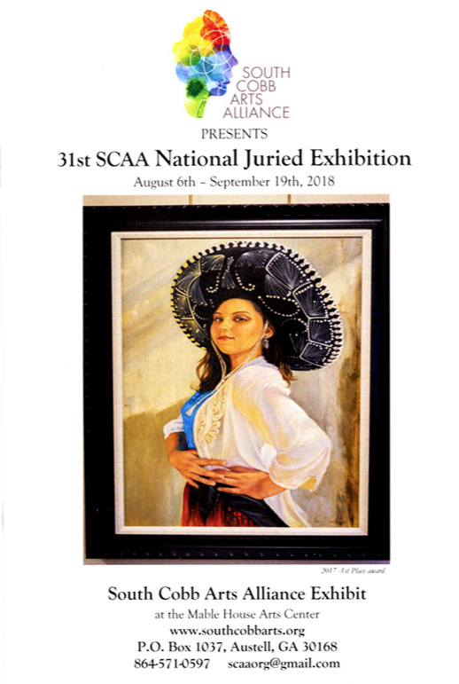 South Cobb Arts Alliance 31st SCAA National Juried Exhibition catalogue