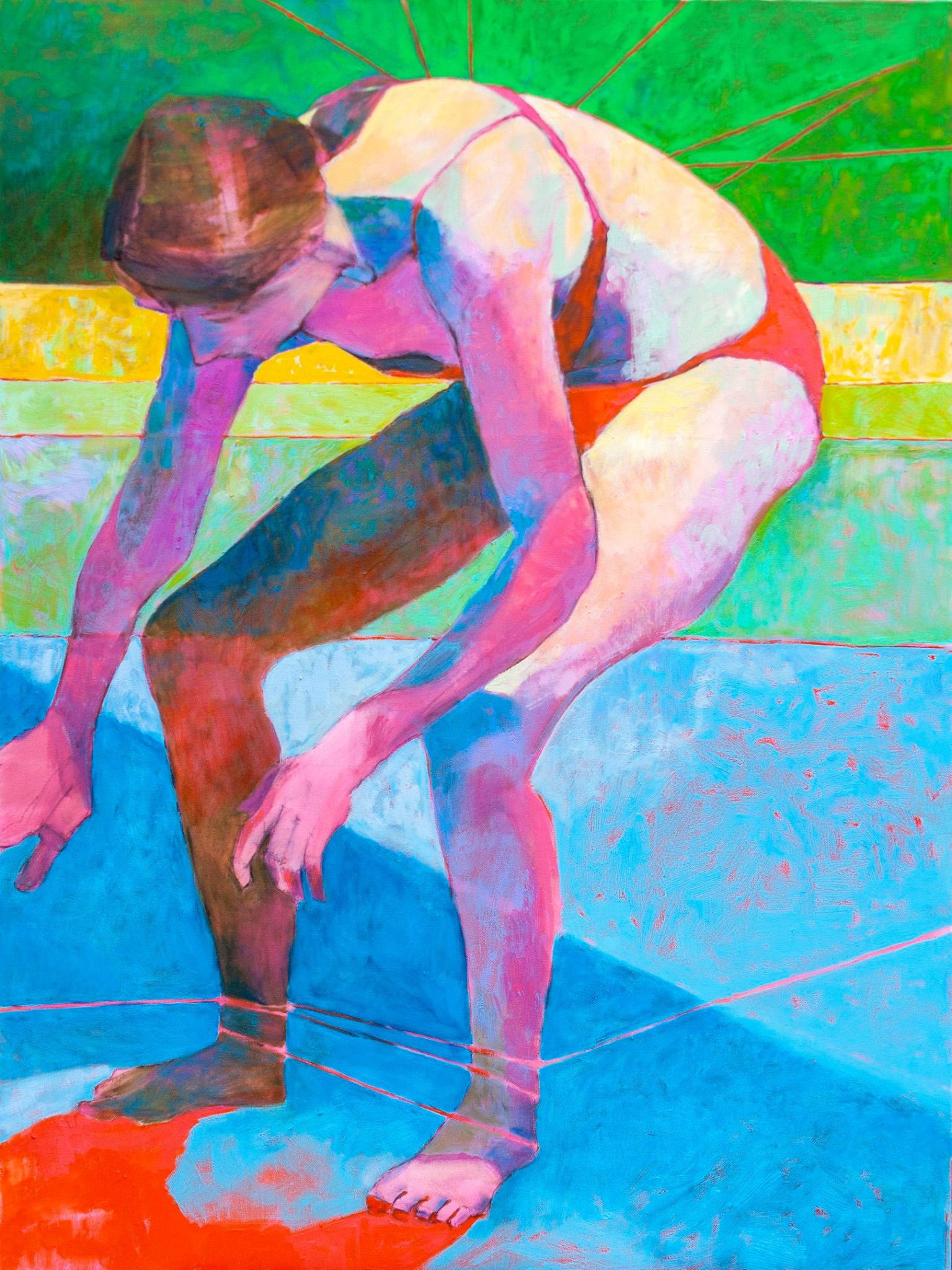 "St Sebastian 2 - 30x40"" oil on canvas - 2019"