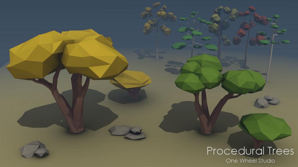 Procedural Trees 1