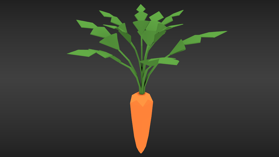 This is apparently what I think a carrot should look like... The jury is still out on this one.