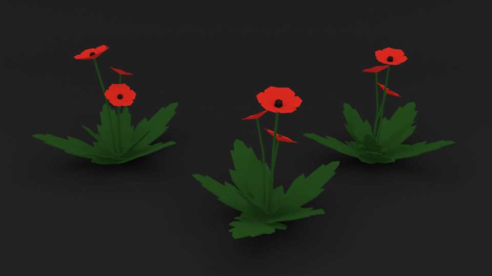 I wanted one more picture in the post. So here's some poppies.