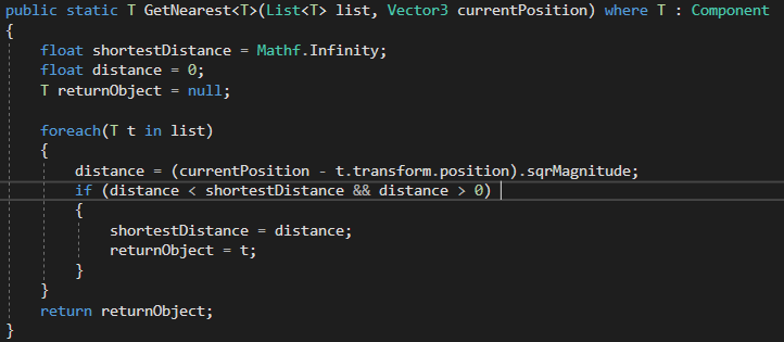 One of my many static functions